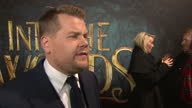 Exterior shows interview with James Corden regarding his role in 'Into the Woods'