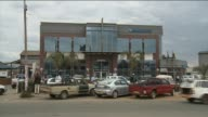 Exterior view of a Barclays branch in Zimbabwe
