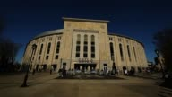 Exterior view of Yankee Stadium prior to a game against the Arizona Diamondbacks Arizona Diamondbacks v New York Yankees at Yankee Stadium on April...