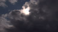 exterior wide shot Glasgow City skyline with dark clouds above / ext wide shot Clyde Port crane above skyline