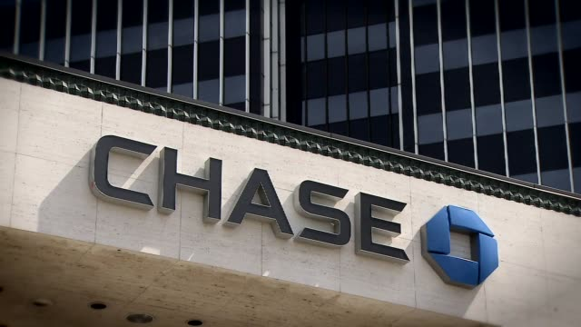 Exteriors Of Chase Bank During The Day on April 13 2012 in Los Angeles California