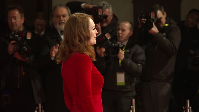 Exteriors of Julianne Moore on the red carpet at the BAFTA awards on February 08 2015 in London England