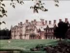Exteriors of royal residence Sandringham House Norfolk 1980's