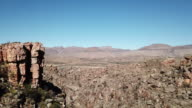 Extreme terrain of the Cederberg in South Africa