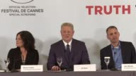 ExUS vicepresident and environmentalist Al Gore presents his new film An Inconvenient Sequel Truth to Power at the Cannes Film Festival and lauds...