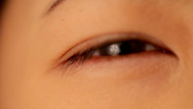 Auge Makro Schuss