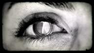 Auge der Countdown. HD
