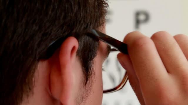 Eye test.