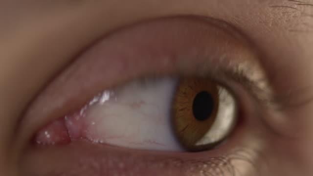 4K - Eyeball Close-Up