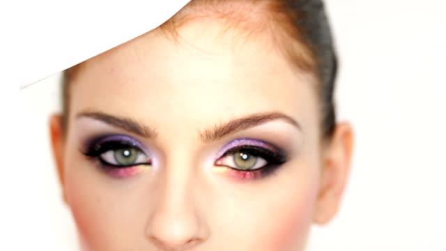Eyes of woman