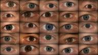 Eyes watching (HD 1080)