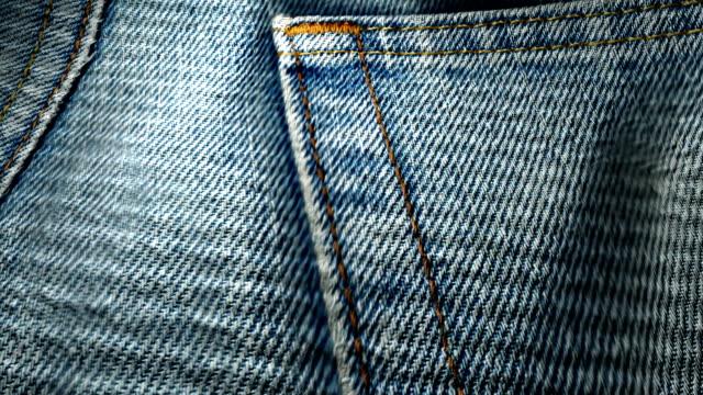 Stoff Textur denim jeans