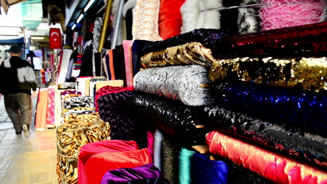 Fabric shops in Turkey
