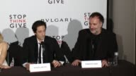 SPEECH Fabrizio Ferri on the cause and how meaningful the process was to him at BVLGARI Partners With Save The Children To Launch STOPTHINKGIVE A...