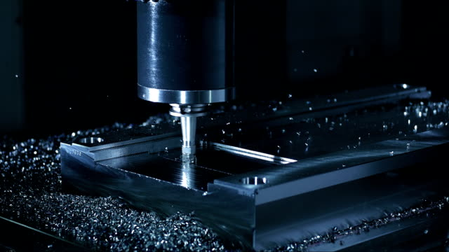 Face Milling Process With Vertical Axis