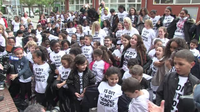 Faced with an increasingly segregated education system Dutch immigrant children have taken to the streets of their ethnically mixed Amsterdam...