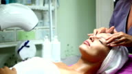 Facial massage.