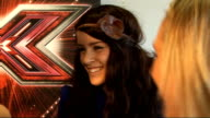 'X Factor' live show launched Interview with Adedeji Solomon and Jones SOT Stacey on Robbie Williams got to hug him he was lovely / Lucie on Robbie...