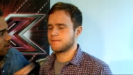 'X Factor' live show launched Interview with Archer Johnson and Murs SOT Olly on who he misses his lads going down pub etc but then this is where he...