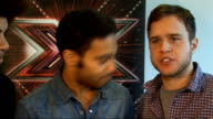'X Factor' live show launched Interview with Archer Johnson and Murs SOT Olly really excited about Saturday will be nervous just before he sings...