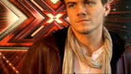 'X Factor' live show launched Interview with McElderry Lonley and Daniels SOT Rikki on meeting Robbie Williams he had the same dream as us / Joe on...