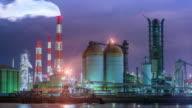 Fabrieken werken door de nacht