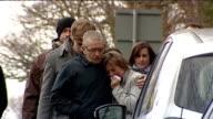 Longwood Lane David Yeates and Teresa Yeates visit scene where Joanna Yeates's body found