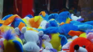 Fairground Soft Toy Crane In Action - Full HD NTSC