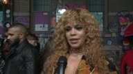 INTERVIEW Faith Evans on what her memories are of the 90's and on what moment she would love to relive from the 90's at 'VH1 Hip Hop Honors The 90's...