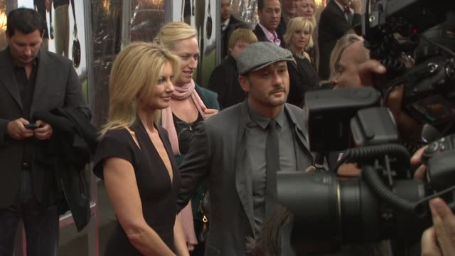 Faith Hill and Tim McGraw at the New York Premiere of 'The Blind Side' at New York NY