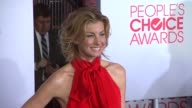 Faith Hill at 2012 People's Choice Awards Arrivals on 1/11/12 in Los Angeles CA