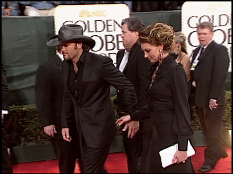 Faith Hill at the 2006 Golden Globe Awards at the Beverly Hilton in Beverly Hills California on January 16 2006
