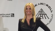Faith Hill at the 25th Annual Rock And Roll Hall Of Fame Induction Ceremony Press Room at New York NY