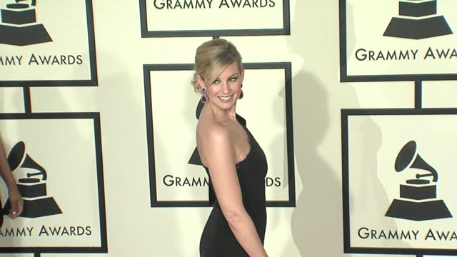 Faith Hill at the 50th Annual GRAMMY Awards at Los Angeles California
