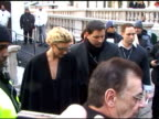 Faith Hill leaves the Project Runway Show at the Celebrity Sightings in New York at New York NY