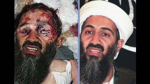 A fake photo of Osama Bin Laden's wounded head circulated on television and internet worldwide before being debunked as a fake Paris Paris France