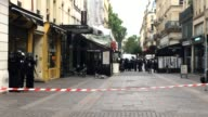 Fake terrorist alert in Paris France At church SaintDenis the special police BRI and army secured the area It appeared to be a fake alert