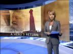 25th anniversary A hero's return FALKLAND ISLANDS Port Stanley Simon Weston LIVE introduction to Falklands War report