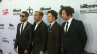 Fall Out Boy at MGM Grand on May 17 2015 in Las Vegas Nevada