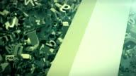 Falling alphabets