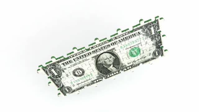 Fallenden dollar