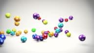 Fallenden Lotto Bälle