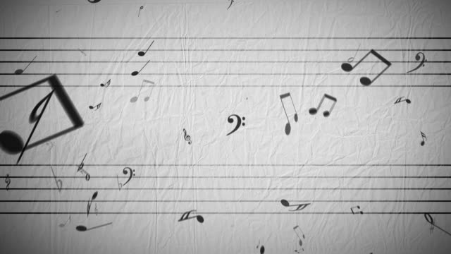 Cadere note musicali, Loop
