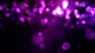 Falling Particles Loop - Pink/Purple