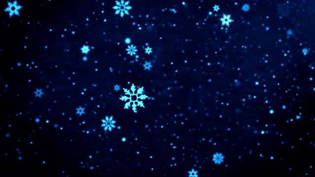 Falling snow loop