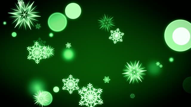 Falling Snowflakes (Loopable)