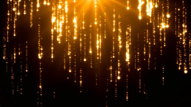 Sternschnuppen - 4K Endlos wiederholbar Hintergrund (M)