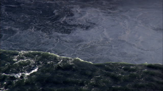 Falls - Aerial View - New York,  Niagara County,  United States