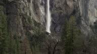 Falls at Yosemite in slow motion