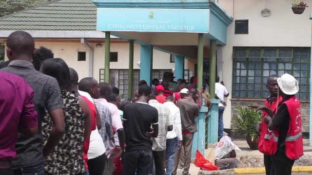 Families desperate for news of sons and daughters feared killed at the Kenya university massacre by Islamist gunmen waited for hours at a morgue in...
